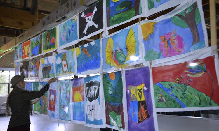 the Spring Arts Collective program