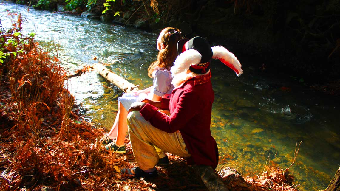 Dec. 7th: Dell Arte Holiday Show – Alice In Wonderland