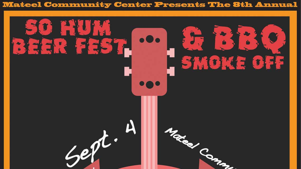 Sept. 4th: SoHum Beer Fest & BBQ Smoke-off
