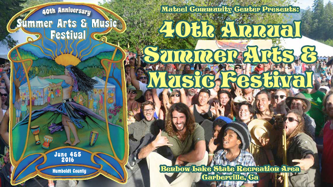 June 4 and 5, 2016: Summer Arts and Music Festival