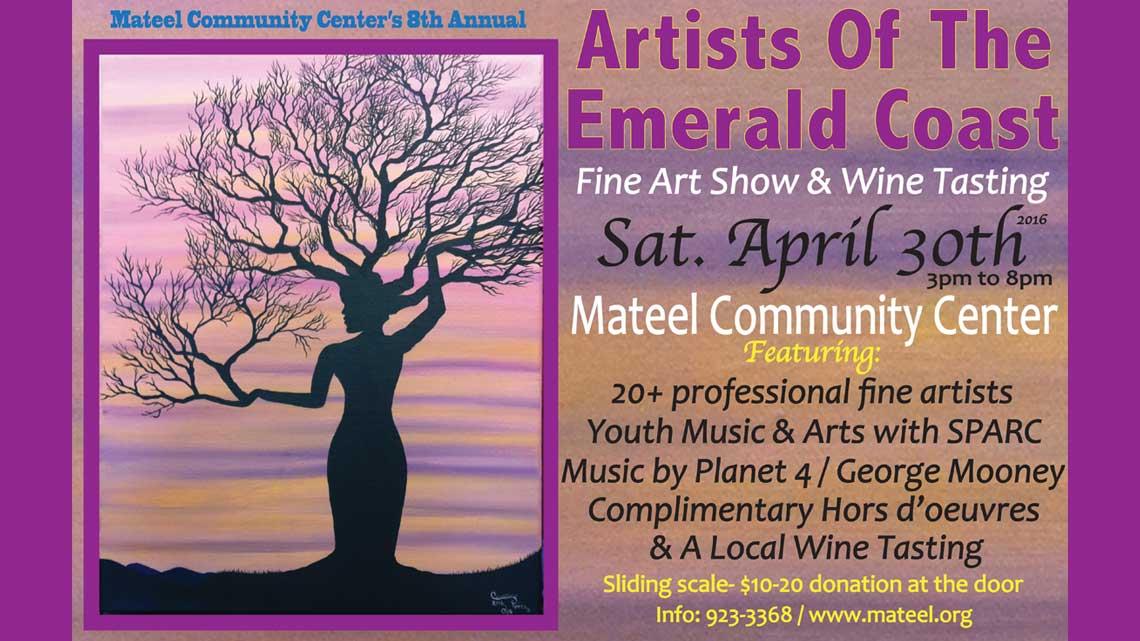 April 30th: Artists Of The Emerald Coast