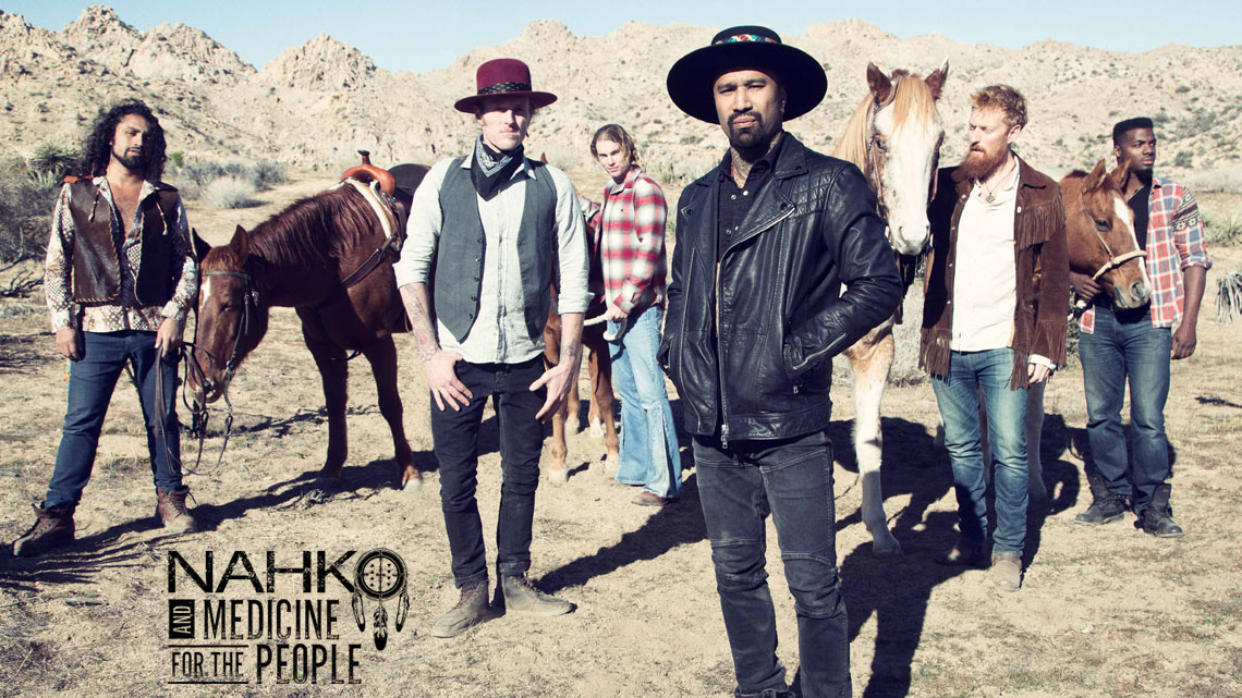 Oct. 20th: Nahko and Medicine For the People
