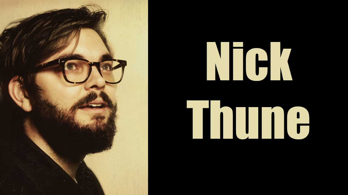 Oct. 22nd: Nick Thune