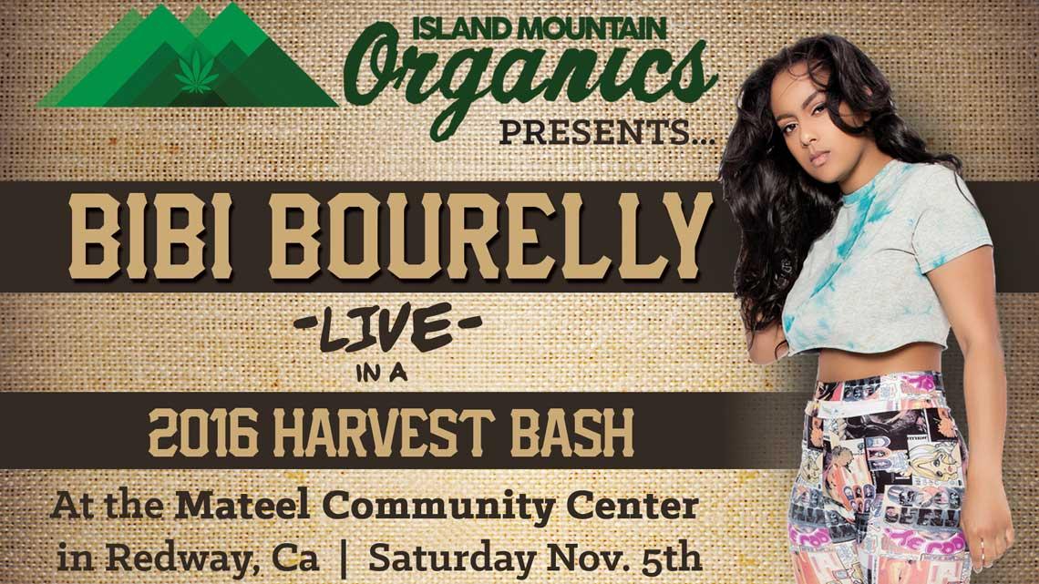 Nov. 5th: Island Mountain Harvest Bash