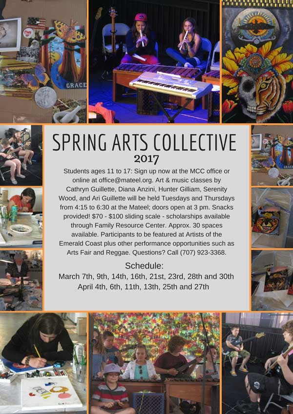 March 7th: Spring Arts Collective
