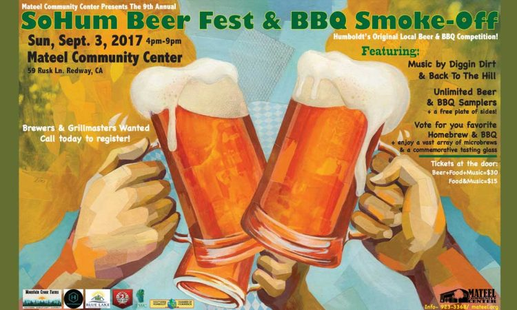 9th Annual SoHum Beer Fest and BBQ Smoke Off