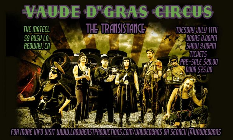 Vaude D' Gras Circus - The Transistance
