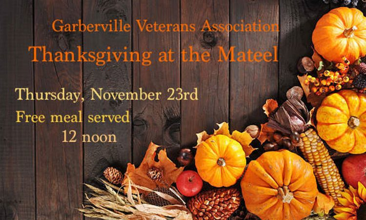 Thanksgiving at the Mateel