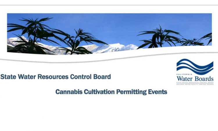 Cannabis Cultivation Permitting Events