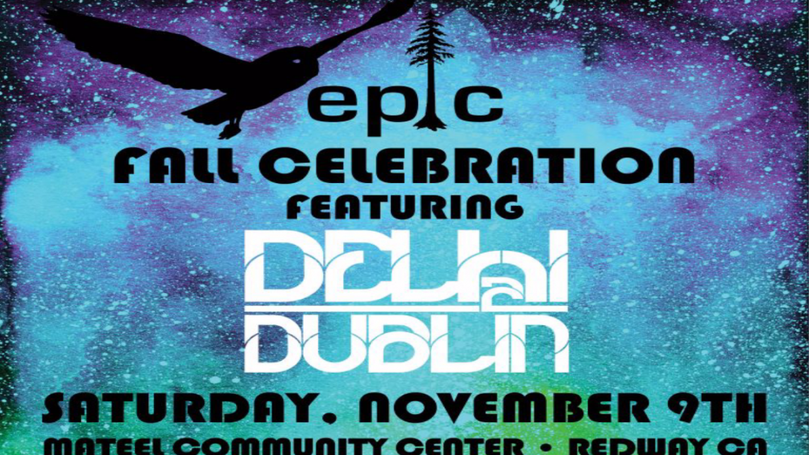 EPIC Fall Celebration with Delhi 2 Dublin    November 9th