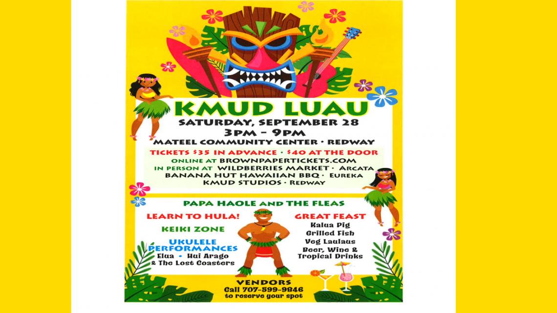 KMUD Luau September 28th