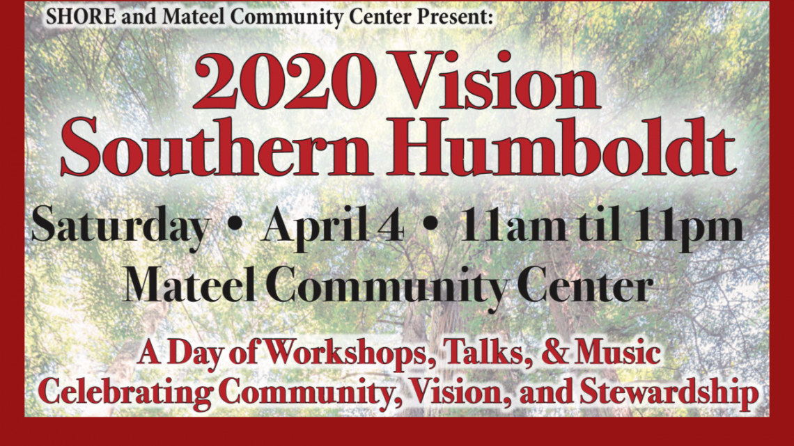2020 Vision Southern Humboldt      April 4, 2020