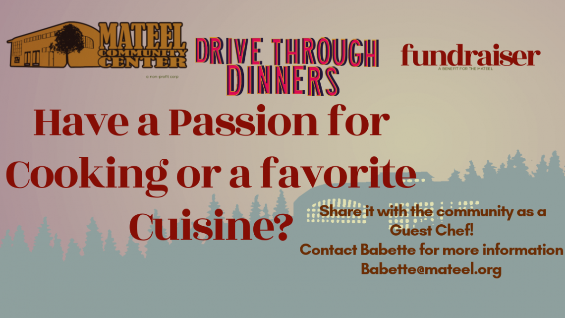 Become a Guest Chef for Drive Through Dinners!