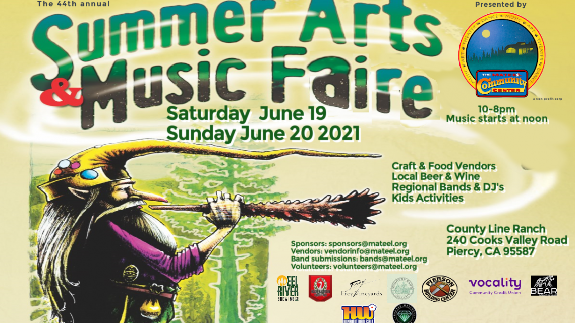 44th Summer Arts Faire June 19-20 2021