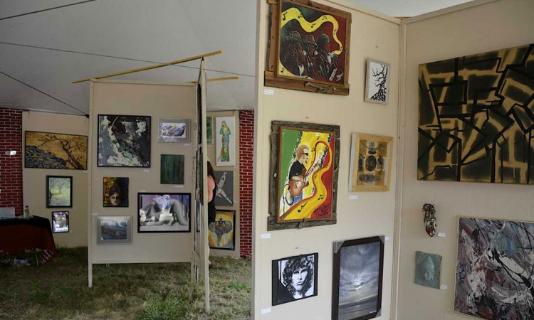 Summer Arts & Music Festival's All-Media Fine Arts Exhibition