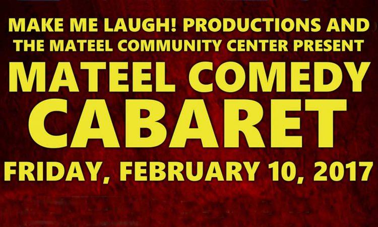 February 10th Comedy Cabaret