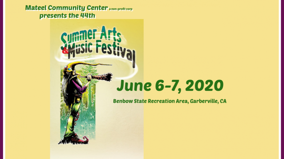 44th Summer Arts & Music Festival June 6-7 – Cancelled