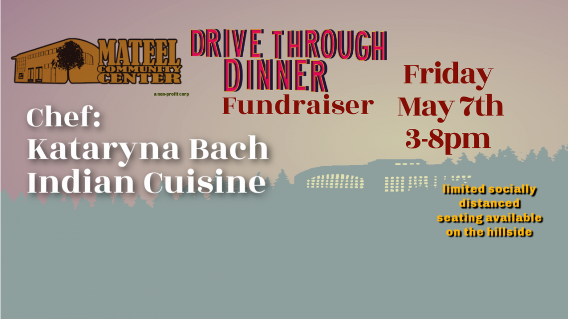 Drive Through Dinner Fundraiser May 7th: Indian Cuisine
